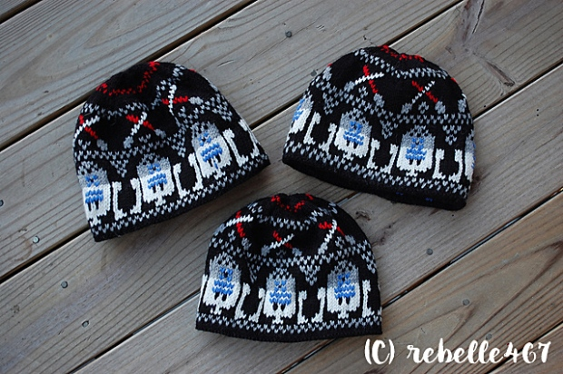 Star Wars Fair Isle hats