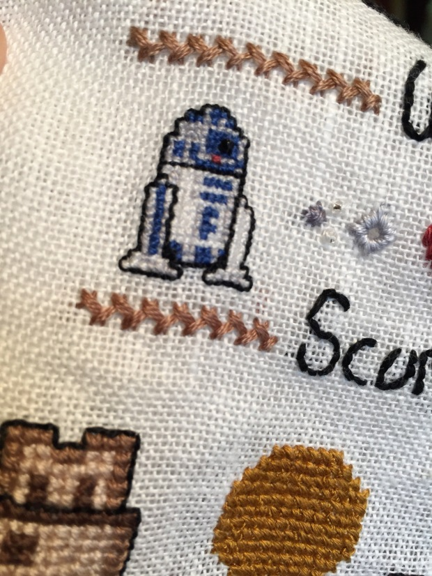 Close-up of R2. His